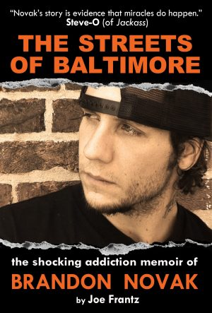 Brandon Novak The Streets of Baltimore book cover
